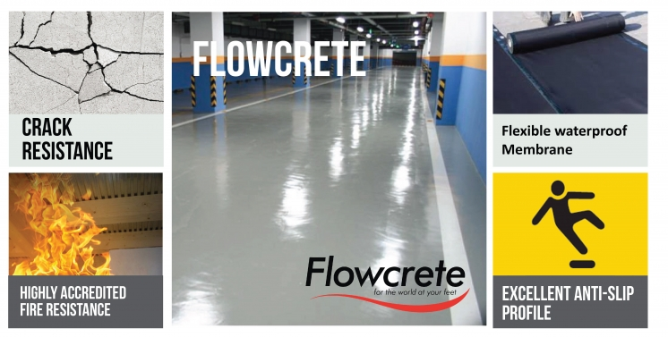Flowcrete (Lantai Epoxy Coating)